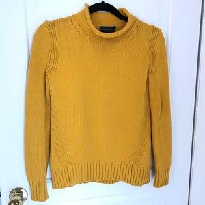 Jcrew Always Cotton Rollneck Sweater